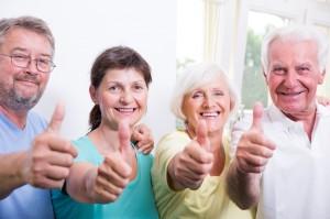 Rentner kommen gerne in den neuen Aktivtreffpunkt