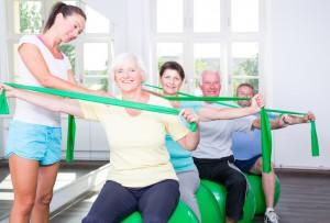 Seniorengymnastik im Aktivteffpunkt